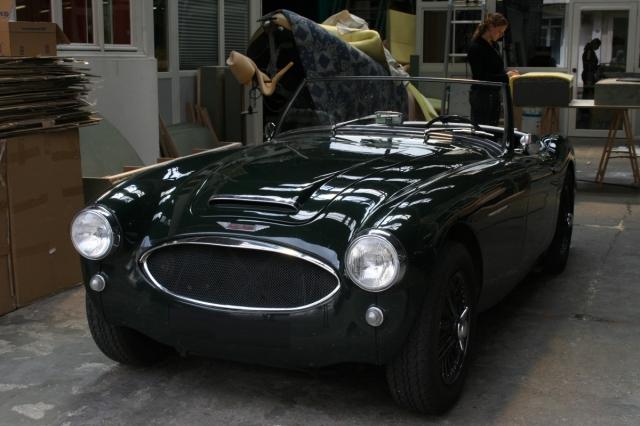 Austin healey 3000 sellerie depuis 1952 en seine maritime for Garage porsche rouen