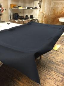 changement du rev tement de ciel de toit vw golf jplecomte sellerie. Black Bedroom Furniture Sets. Home Design Ideas