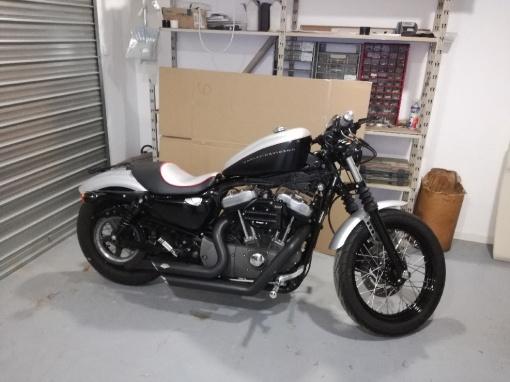 moto harley davidson sellerie depuis 1952 en seine maritime. Black Bedroom Furniture Sets. Home Design Ideas